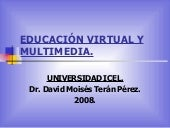 EducaciÓn Virtual Y Multimedia