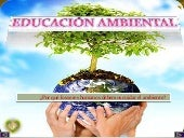Educacion ambiental powerpoint