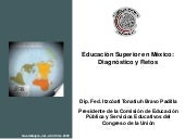Educacion Superior En Mexico Diag Y...
