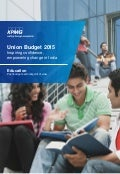 Impact of Budget 2015 on Education sector