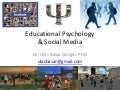 Educational Psychology and Social Media