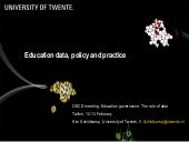Education, data policy and practice - Kim Schildkamp