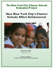 Education, Hoxy Study, How Nyc Char...