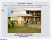 Education in Emergency in Ghana: A ...
