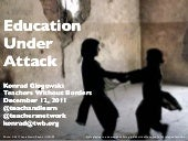 Education Under Attack: The Impact ...