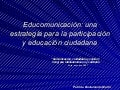 Educomunicacion (Ultima Version)