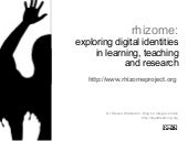 Rhizome Project: exploring digital ...
