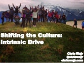 Shifting the Culture: Instrinsic Drive