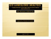 GIS LANDSLIDES ANALYSIS ii