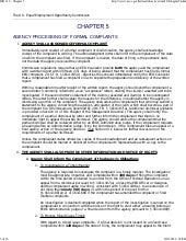 EEOC - Agency Processing Of Formal ...