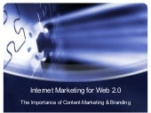 The Importance of Content Marketing...