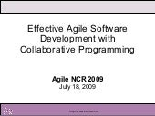 Effective Collaborative Programming3