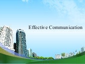 Effective communication mba ppt