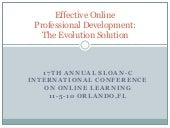 Effective Professional Development:...