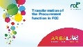 Effective Transformation of Global Procurement Organizations - FCC (English)