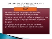 Effects of mother tongue on student's performance