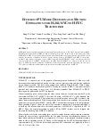 Efficient pu mode decision and motion estimation for h.264 avc to hevc transcoder