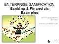 Gamification in Banking & Financials Examples