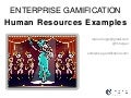 Gamification in Human Resources - Examples