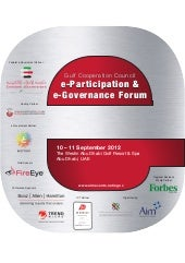 GCC E-Participation and E-Governanc...