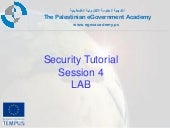 E gov security_tut_session_4_lab