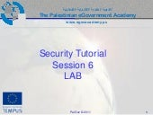 E gov security_tut_session_6_lab
