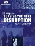 7 ways Survive the Next Disruption in 21st Century IT