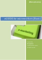 eGuide For Microworkers