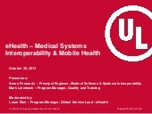 eHealth - Medical Systems Interoper...