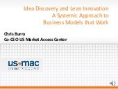 Idea Discovery and Lean Innovation