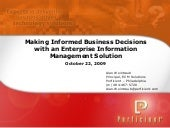 Making Informed Business Decisions ...