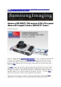 "Samsung WB1000(TL320) receives EISA's""European Advanced Compact Camera 2009-2010″-Award"