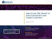 How to Use Site Search to Drive Conversions and Create Customers