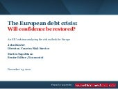 EIU Webinar_European Debt Crisis_No...
