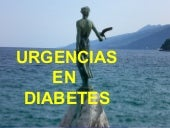 URGENCIAS EN DIABETES
