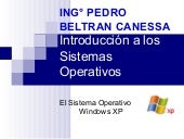 El Sistema Operativo Windows Xp