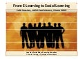From E-Learning to Social Learning