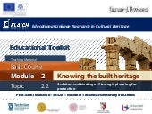 Elaich module 2 topic 2.2 - Archite...