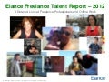 Elance Freelance Talent Report 2012