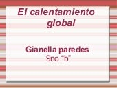 El callentamiento global