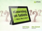 eLearning On Tablets - What, Why & ...