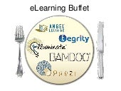 E learning buffet
