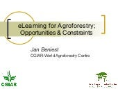 E Learning For Agroforestry