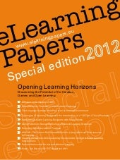 Opening Learning Horizons: eLearnin...