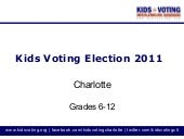 Election2011 - Middle and High scho...