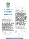 Activation of Election Academy