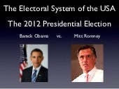 The Electoral System of the USA // ...