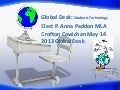 Elect p. anna paddon mla crofton cowichan may 14 2013 global desk globe on desk