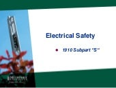 MU Electrical safety