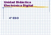 Electronica Digital 4º Eso